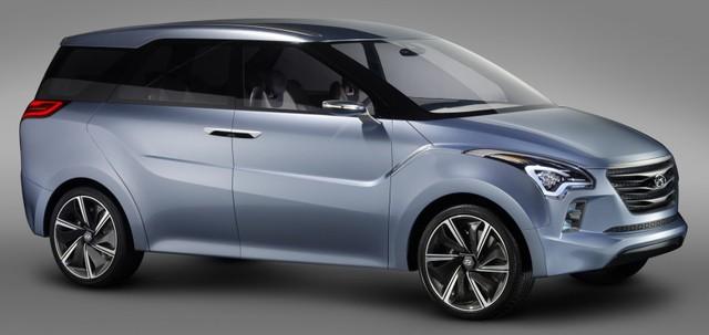 Hyundai HND-7 Hexa Space là hình ảnh xem trước của mẫu xe gia đình IP.