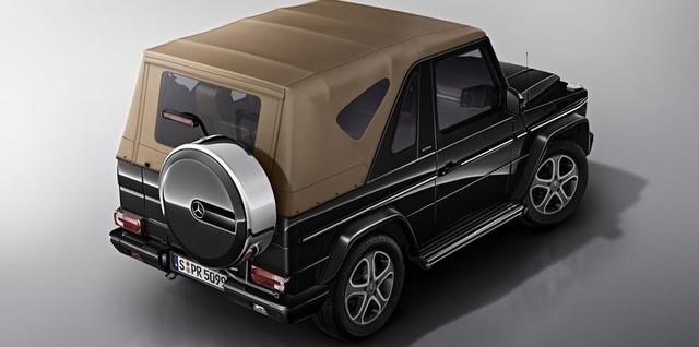 Dù G-Class Cabrio thất bại về mặt doanh số nhưng hãng Mercedes-Benz vẫn muốn sản xuất xe SUV mui trần mới.