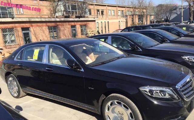 Mercedes-Maybach tại Trung Quốc.