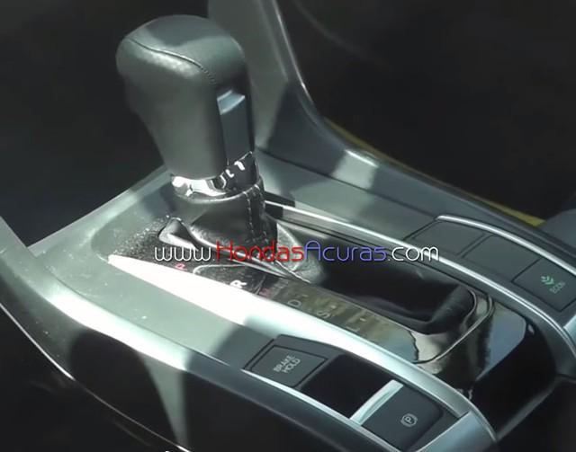 Honda Civic 2016 có khả năng sẽ được trang bị hộp số CVT mới.