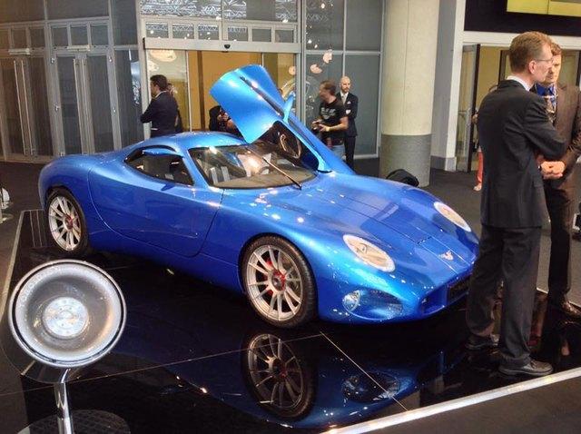 """Siêu xe Toroidion 1MW trong triển lãm """"nhà giàu"""" Top Marques Monaco 2015."""
