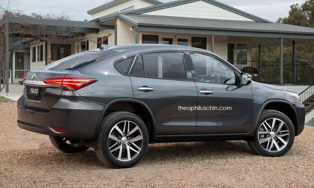 Toyota Fortuner phiên bản SUV lai Coupe của Theophilus Chin.