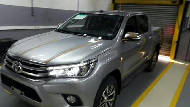 Hình ảnh mới của Toyota Hilux 2016