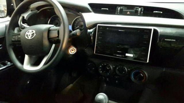 Nội thất của Toyota Hilux thế hệ mới