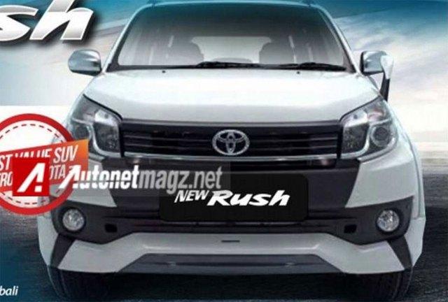 Hình ảnh rò rỉ của Toyota Rush 2015