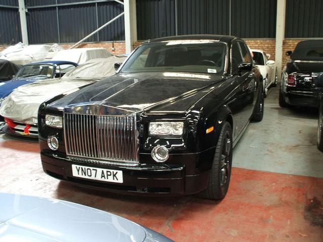 Chiếc Rolls-Royce Phantom bị tịch thu của trùm xã hội đen London.