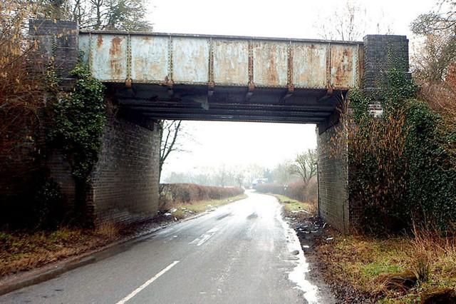 Cầu Snowford Hill, nơi xảy ra vụ tai nạn.