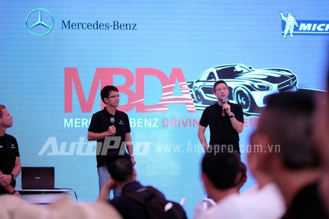 Chuyên gia Mercedes-Benz giới thiệu những công nghệ an toàn mới trên xe.