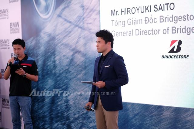 Ông Hiroyuki Saito - tổng giám đốc Bridgstone.