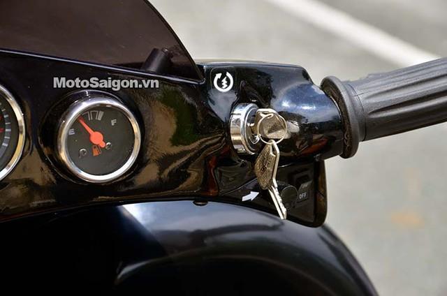 Chìa khóa khởi động với kiểu vặn giữ để nổ máy giống ô tô
