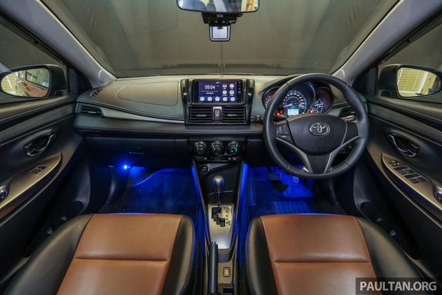 Toyota Vios 2016 chính thức ra mắt tại Malaysia, giá từ 415 triệu Đồng - Ảnh 6.