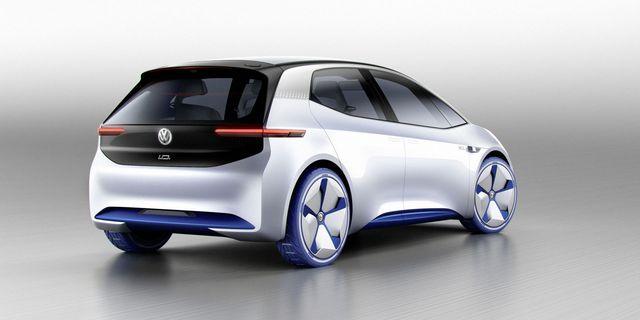 Chiếc xe concept mà Volkswagen công bố sẽ sử dụng động cơ điện để vận hành.