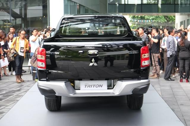 Mitsubishi Triton 2017 ra mắt tại Thái Lan, giá từ 489 triệu Đồng - Ảnh 6.