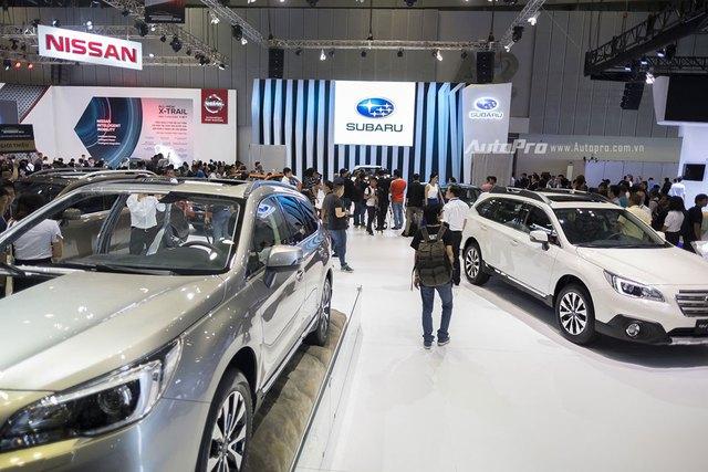 Gian trưng bày của Subaru tại VIMS 2016