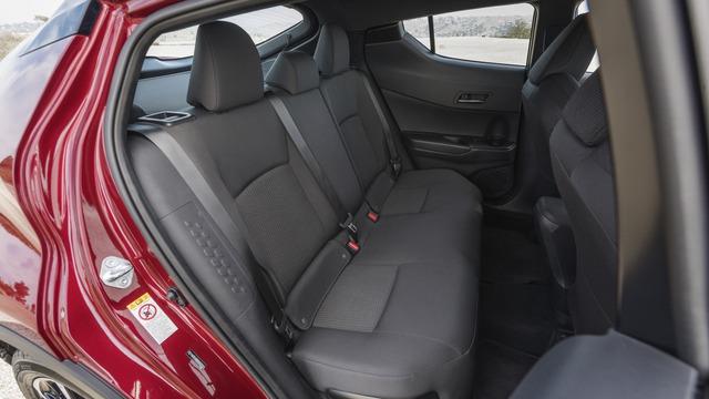 Hãng Toyota nhấn mạnh gói an toàn và hỗ trợ người lái Safety Sense P sẽ được dùng cho cả 2 bản trang bị của C-HR. Gói này bao gồm tính năng ngăn va chạm sớm, phát hiện người đi bộ, cảnh báo chuyển làn đường, hỗ trợ đánh lái, kiểm soát hành trình thích ứng bằng radar và đèn pha tự động.