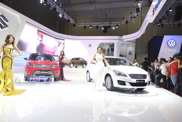 Cặp đôi Suzuki Vitara và Ciaz