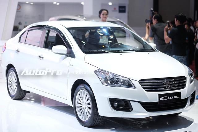 Suzuki Ciaz sắp được bày bán tại Việt Nam