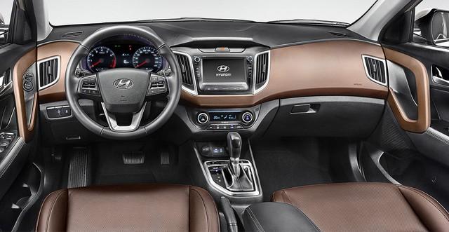 Nội thất của Hyundai Creta 2017...