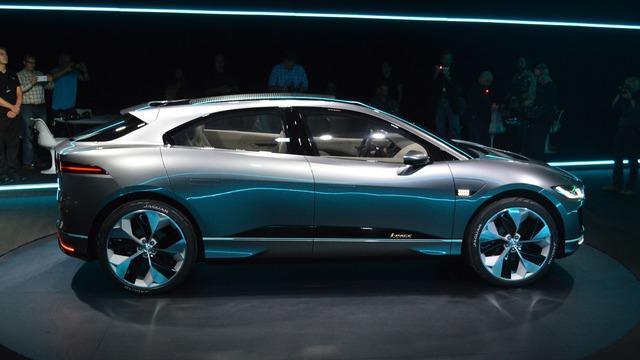 Tạm thời, Jaguar I-Pace mới dừng ở dạng xe concept. Đến năm 2018, Jaguar I-Pace mới được bày bán trên thị trường và nhắm đến đôi thủ trực tiếp là Tesla Model X.