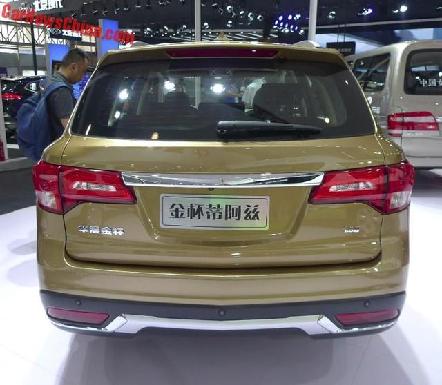 Jinbei Diazi rẻ gấp 7 lần Acura MDX.
