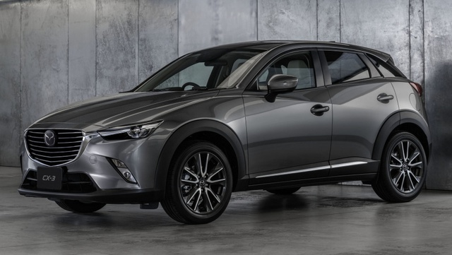 Mazda CX-3 2017 màu xám Machine Grey Metallic mới