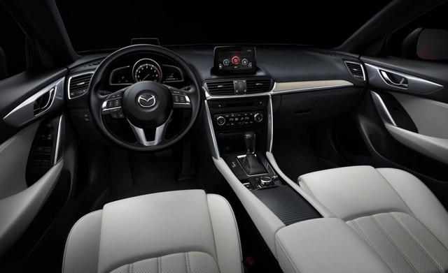 Nội thất của Mazda CX-4