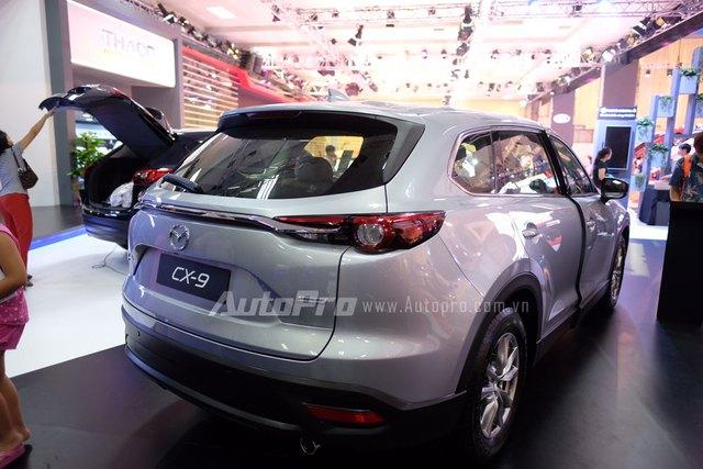 Mục sở thị crossover 7 chỗ hàng hot Mazda CX-9 2016 tại Việt Nam - Ảnh 3.