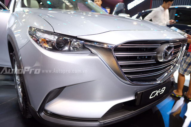Mục sở thị crossover 7 chỗ hàng hot Mazda CX-9 2016 tại Việt Nam - Ảnh 4.