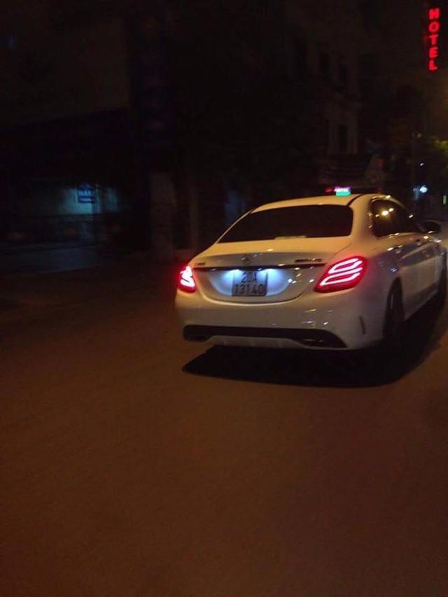 Chiếc Mercedes-Benz C250 được cho là gây tai nạn.