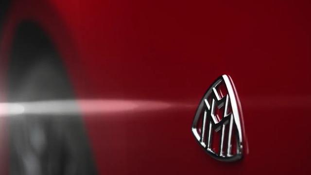 Logo Maybach bên sườn