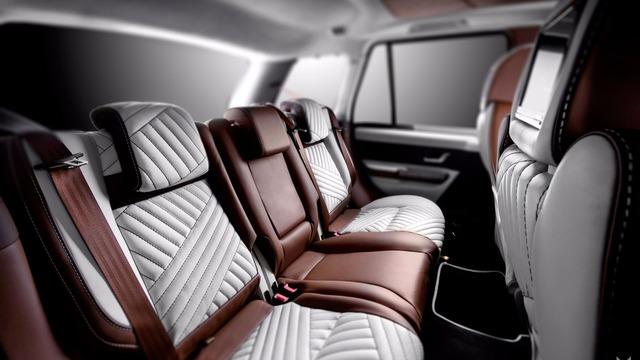 Tại thị trường Anh, Range Rover Sport 2009 tiêu chuẩn có giá khởi điểm khoảng 17.000 Bảng, tương đương 21.000 USD. Hiện chưa rõ chi phí độ nội thất của chiếc Range Rover Sport này.