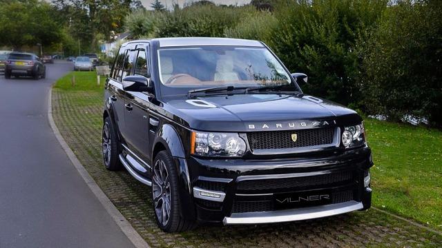 Chiếc Range Rover Sport được hãng Vilner chọn để độ nội thất khá đặc biệt. Đây là chiếc Range Rover Sport từng được dùng làm giải thưởng cho nhóm nhảy Diversity, quán quân của chương trình tìm kiếm tài năng Britain's Got Talent 2009.