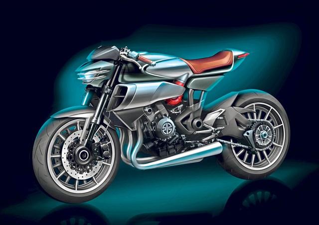 Hình ảnh của SC-02 Soul Charger do hãng Kawasaki tung ra.