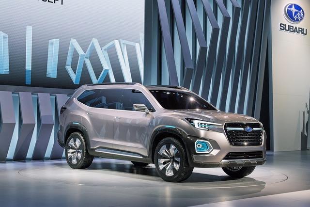 Có thể nói, Subaru đã rút khỏi phân khúc SUV cỡ trung với 3 hàng ghế và 7 chỗ kể từ khi khai tử Tribeca vào năm 2014. Đến nay, hãng Subaru mới thể hiện rõ ý định quay trở lại phân khúc này qua mẫu xe concept Viziv-7 mới.