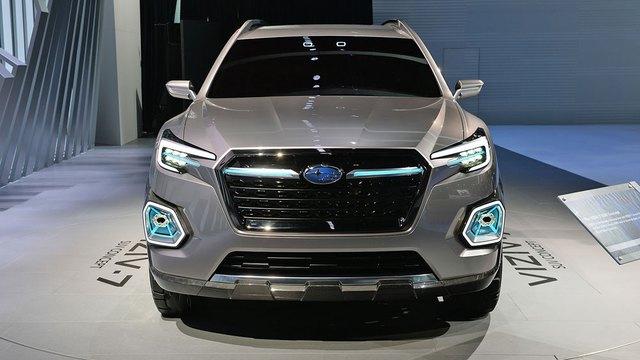 Theo hãng Subaru, cái tên Viziv có nghĩa là Vision for Innovation hay tầm nhìn sáng tạo. Trong khi đó, con số 7 ám chỉ số chỗ ngồi bên trong nội thất xe.