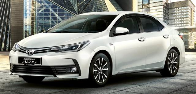 Toyota Corolla Altis 2017 tại Malaysia