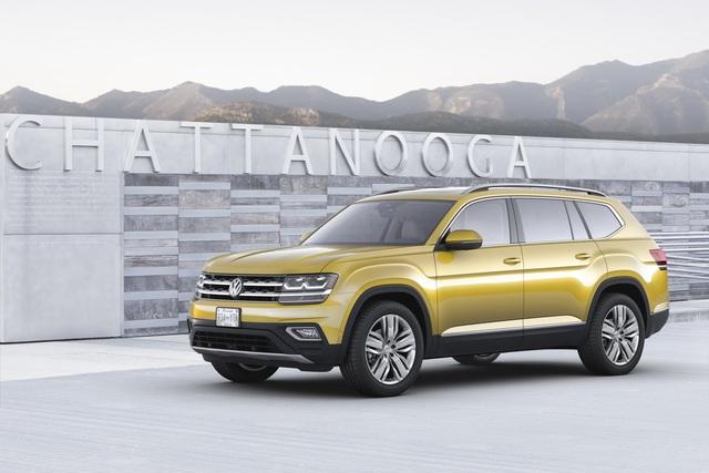 Ban đầu, Volkswagen Atlas 2018 sẽ có 2 tùy chọn động cơ khác nhau. Đầu tiên là động cơ xăng 4 xy-lanh, tăng áp, dung tích 2.0 lít, sản sinh công suất tối đa 238 mã lực.