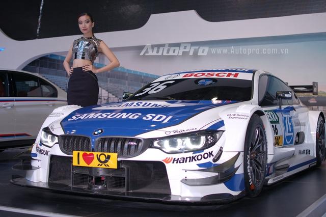 BMW M4 DTM mẫu xe đua duy nhất xuất hiện tại triển lãm VIMS 2016.