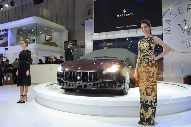 Maserati Quattroporte 2017 là ngôi sao sáng của hãng xe hạng sang đến từ Ý tại VIMS 2016.
