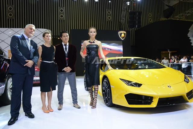 Gian hàng của Lamborghini tại VIMS 2016