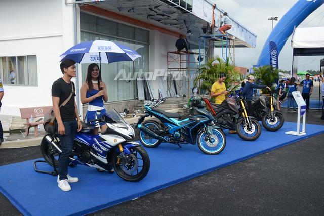 Ngoài chiếc Yamaha NVX 155, sự kiện Yamaha GP còn mang đến dàn xe độ đẹp mắt trong đó đáng chú ý là chiếc Exciter 150 độ chính hãng 1,5 tỷ Đồng.