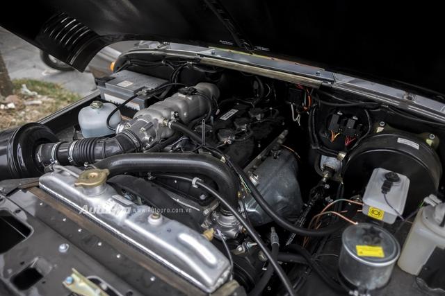 UAZ Hunter chỉ có 1 động cơ duy nhất là máy xăng 2,7 lít với công suất tối đa 128 mã lực tại vòng tua máy 4.600 vòng/phút và mô-men xoắn cực đại 209,7 Nm tại vòng tua máy 2.500 vòng/phút.