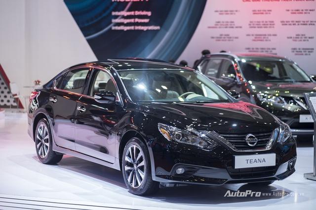 Nissan Teana và Sunny ra phiên bản mới, nâng cấp nhẹ tại VIMS 2016 - Ảnh 11.