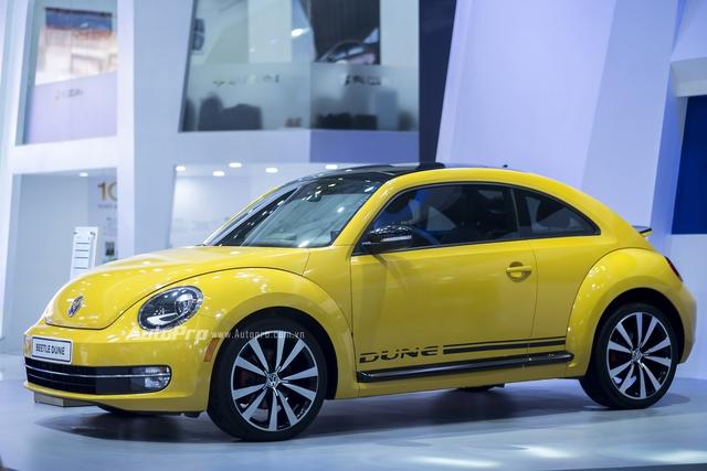 Volkswagen trưng bày Beetle 2016 phiên bản thường nhưng dán tem Dune - Ảnh 2.