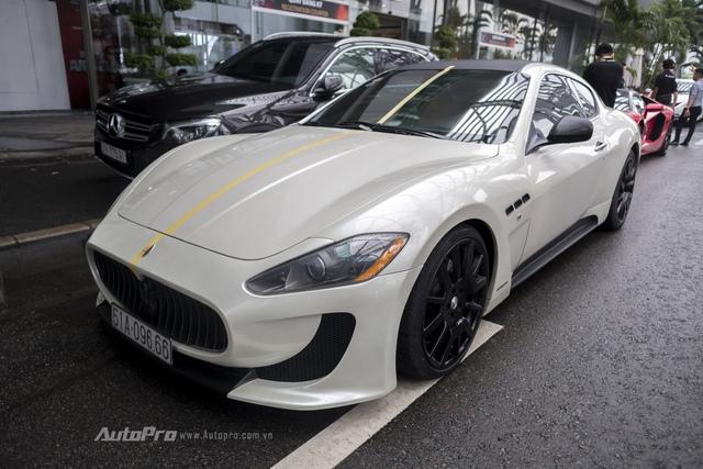 Chiếc xe Maserati GranTurismo với biển số đẹp 096.66