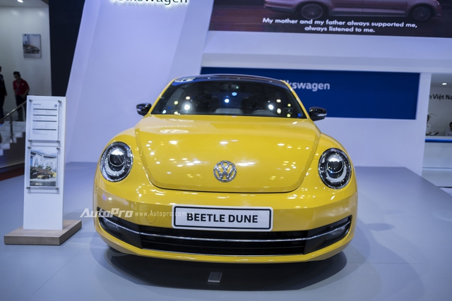 Volkswagen trưng bày Beetle 2016 phiên bản thường nhưng dán tem Dune - Ảnh 3.