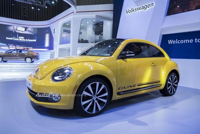 Volkswagen trưng bày Beetle 2016 phiên bản thường nhưng dán tem Dune - Ảnh 4.