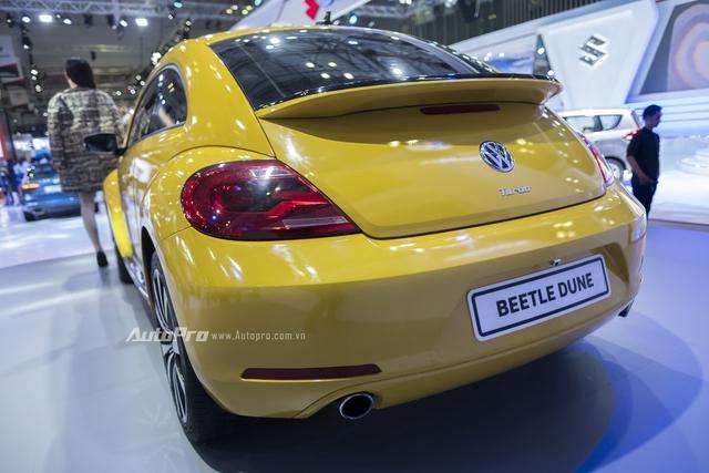 Volkswagen trưng bày Beetle 2016 phiên bản thường nhưng dán tem Dune - Ảnh 9.