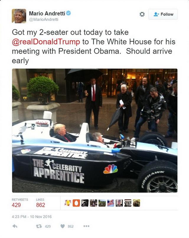 Đoạn chia sẻ của tay đua Andretti thu hút sự chú ý trên Twitter.