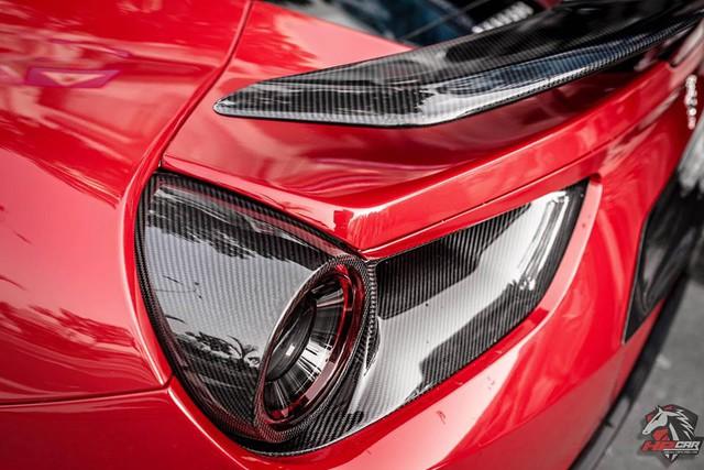 Tay chơi Đà Nẵng chi 1 tỷ Đồng bộ body kit cho Ferrari 488 GTB - Ảnh 6.